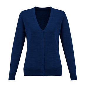 The Roma Knit | Ladies | Cardigan | French Blue
