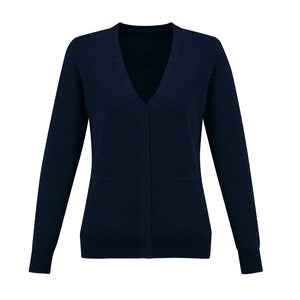 The Roma Knit | Ladies | Cardigan | Navy