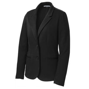 The Knit Blazer | Ladies | Black