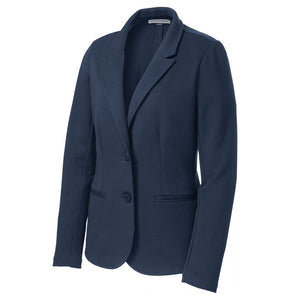 The Knit Blazer | Ladies | Navy