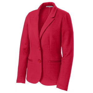 The Knit Blazer | Ladies | Red