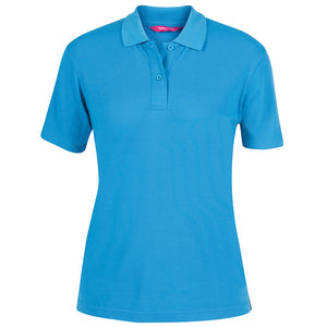 The Pique Polo | Ladies | Short Sleeve | Aqua