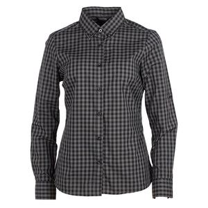 The Barrett Shirt | Ladies | Charcoal/Black