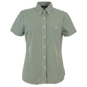 The Miller Shirt | Ladies | Short Sleeve | Racing Green
