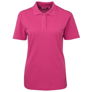 The Pique Polo | Ladies | Short Sleeve | Hot Pink