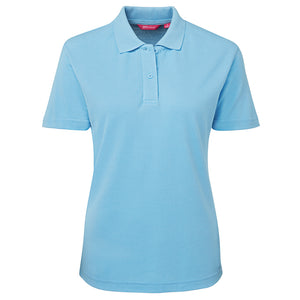 The Pique Polo | Ladies | Short Sleeve | Light Blue
