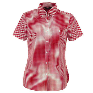 The Miller Shirt | Ladies | Short Sleeve | Red