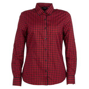 The Barrett Shirt | Ladies | Red/Black