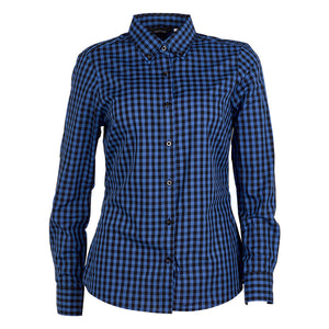 The Barrett Shirt | Ladies | Royal/Black