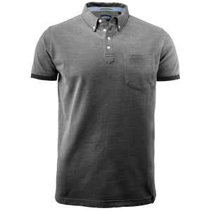 The Larkford Polo | Mens | Short Sleeve | Black Marle