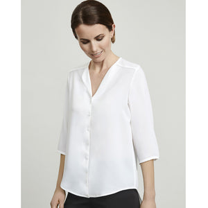 The Lily Long Line Blouse | House of Uniforms Australia