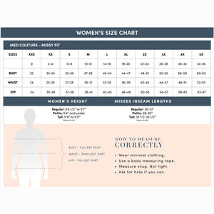 Med Couture Sizing