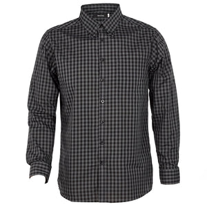 The Barrett Shirt | Mens | Charcoal/Black