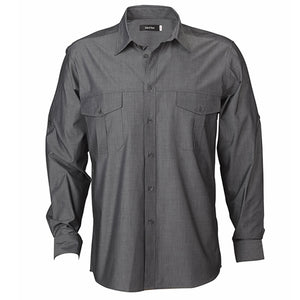 The Jasper Shirt | Mens | Long Sleeve | Graphite
