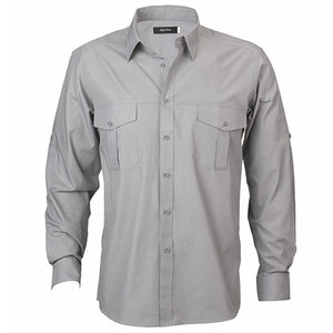 The Jasper Shirt | Mens | Long Sleeve | Grey