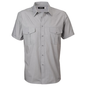 The Jasper Shirt | Mens | Short Sleeve | Grey