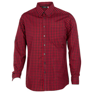 The Barrett Shirt | Mens | Red/Black
