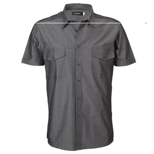 The Jasper Shirt | Mens | Short Sleeve | Graphite