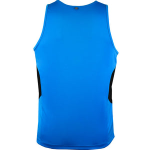 The Tasman Singlet | Mens | Cyan/Black