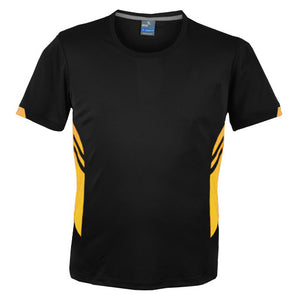 The Tasman Tee | Mens | Black/Gold