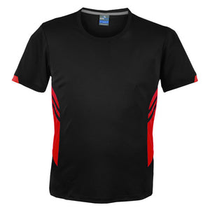 The Tasman Tee | Mens | Black/Red