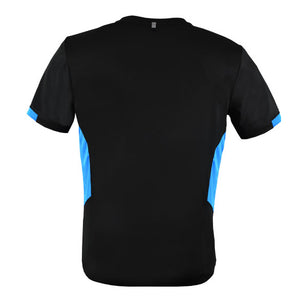 The Tasman Tee | Mens | Black/Cyan