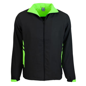 The Tasman Tracktop | Mens | Black/Neon Green