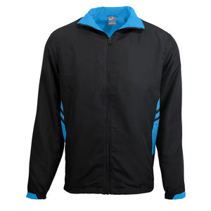 The Tasman Tracktop | Mens | Black/Cyan