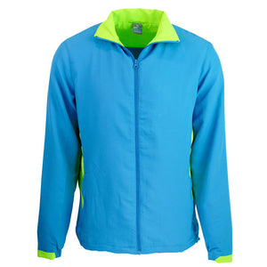 The Tasman Tracktop | Mens | Cyan/Neon Green