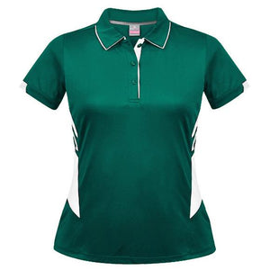 The Tasman Polo | Ladies | Bottle/White
