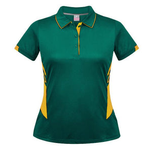 The Tasman Polo | Ladies | Bottle/Gold