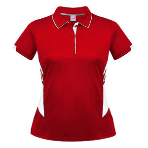 The Tasman Polo | Ladies | Red/White