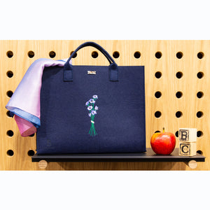 The Felt Tote Bag