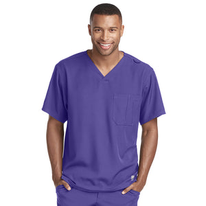 Structure Scrub Top | New Grape