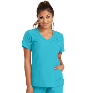 Ladies Reliance Top | New Turquoise
