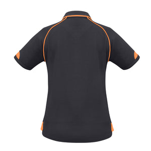 Fusion Polo  Ladies | Grey/Orange