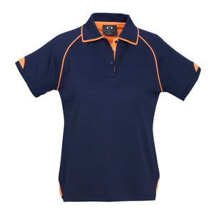 Fusion Polo  Ladies | Navy/Orange