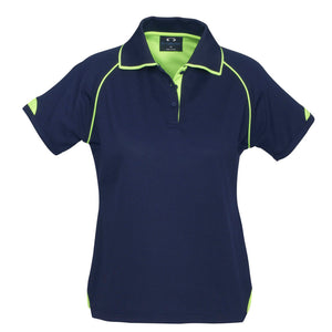Fusion Polo  Ladies | Navy/Lime