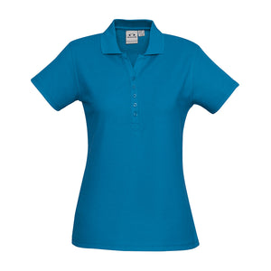 The Crew Polo | Ladies | Short Sleeve | Cyan