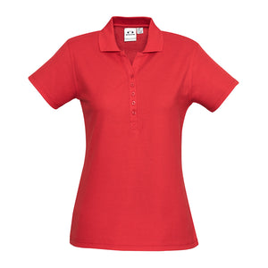 The Crew Polo | Ladies | Short Sleeve | Red