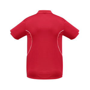 The Razor Polo | Mens | Short Sleeve | Red/White
