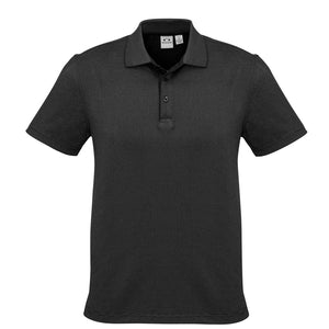 Mens Shadow Polo | Black