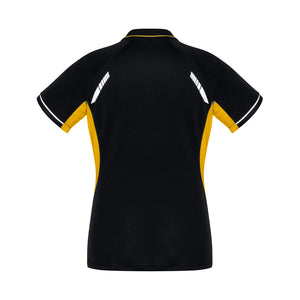 The Renegade Polo | Ladies | Short Sleeve | Black/Gold