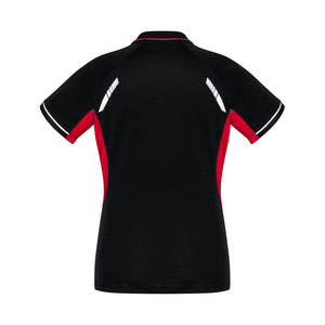 The Renegade Polo | Ladies | Short Sleeve | Black/Red