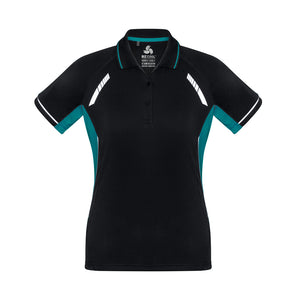 The Renegade Polo | Ladies | Short Sleeve | Black/Teal