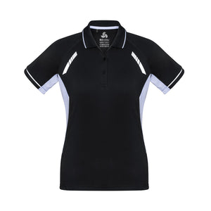The Renegade Polo | Ladies | Short Sleeve | Black/White