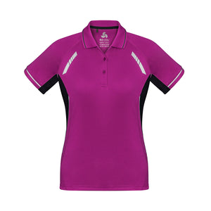 The Renegade Polo | Ladies | Short Sleeve | Magenta/Black