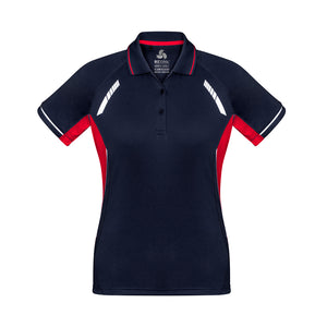 The Renegade Polo | Ladies | Short Sleeve | Navy/Red