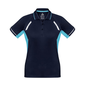 The Renegade Polo | Ladies | Short Sleeve | Navy/Sky