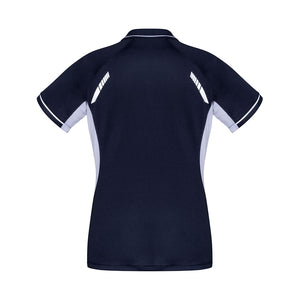 The Renegade Polo | Ladies | Short Sleeve | Navy/White